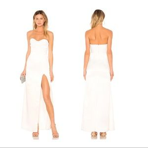 NWT Lovers + Friends Jamie Gown in Ivory